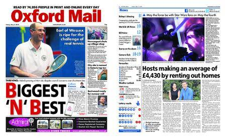 Oxford Mail – May 04, 2018
