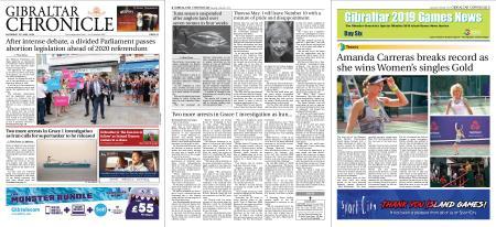 Gibraltar Chronicle – 13 July 2019
