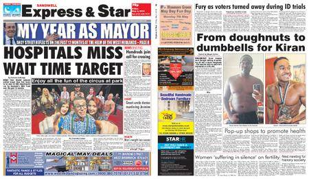 Express and Star Sandwell Edition – May 04, 2018
