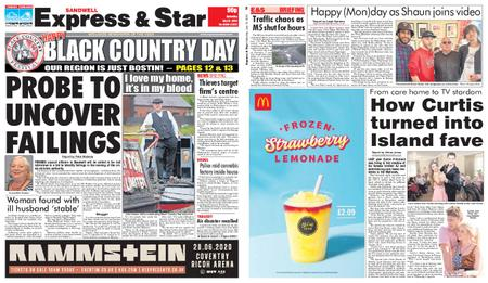 Express and Star Sandwell Edition – July 13, 2019