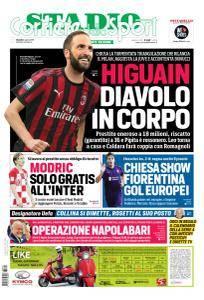 Corriere dello Sport Stadio - 2 Agosto 2018