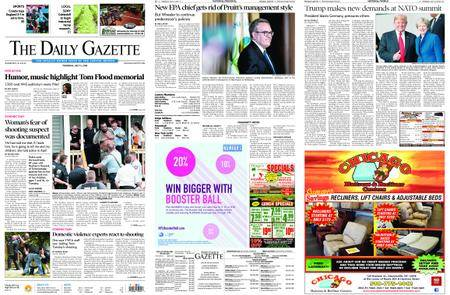 The Daily Gazette – July 12, 2018