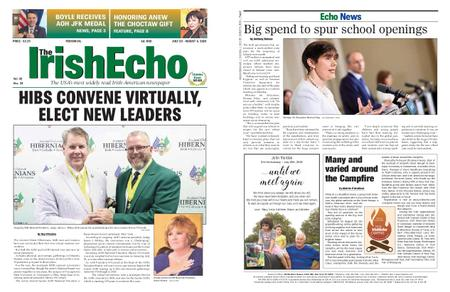 The Irish Echo – July 29, 2020
