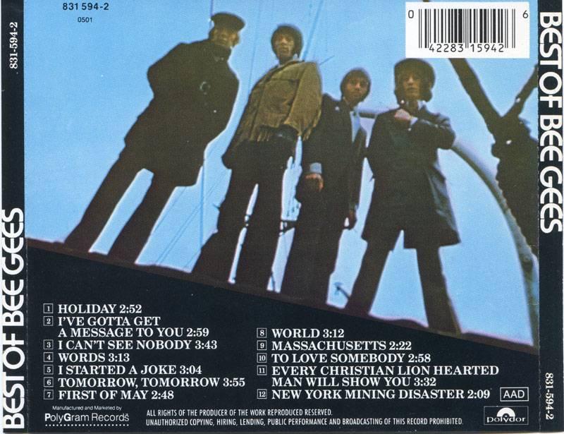 Album Best Of Bee Gees 1969 Bee Gees