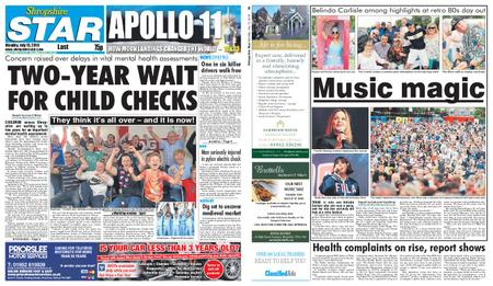 Shropshire Star Last Telford Edition – July 15, 2019