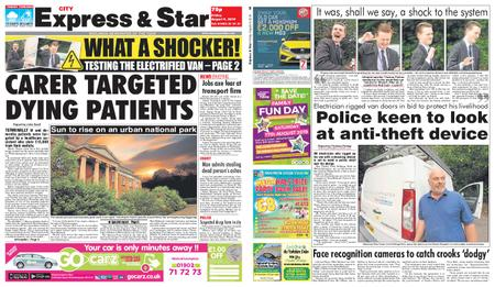 Express and Star City Edition – August 09, 2019