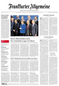 Frankfurter Allgemeine Zeitung F.A.Z. - 20. Januar 2020