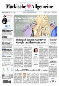 Märkische Allgemeine Dosse Kurier - 06. November 2017