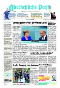 Oberhessische Presse Marburg/Ostkreis - 04. September 2017