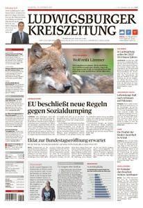 Ludwigsburger Kreiszeitung - 24. Oktober 2017