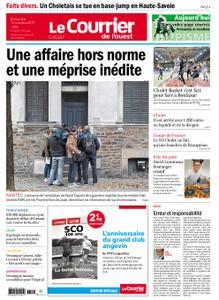 Le Courrier de l'Ouest Cholet – 13 octobre 2019
