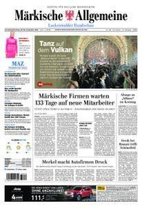 Märkische Allgemeine Luckenwalder Rundschau - 29. September 2018