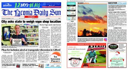 The Laconia Daily Sun – December 12, 2019