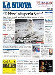 La Nuova Sardegna Gallura - 19 Luglio 2019