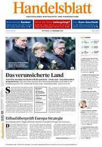 Handelsblatt - 21. Dezember 2016