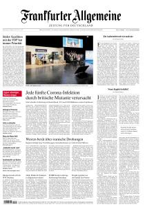 Frankfurter Allgemeine Zeitung - 18 Februar 2021