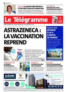 Le Télégramme Brest – 19 mars 2021