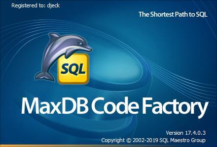 SQLMaestro MaxDB Code Factory 17.4.0.3 Multilingual