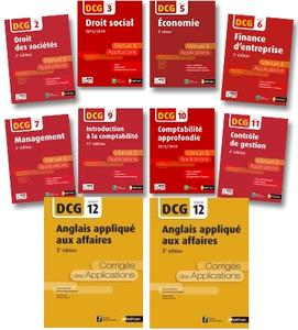 "Nathan - Collection DCG ""Manuel & Applications"" + Fichiers complémentaires d'exercices"