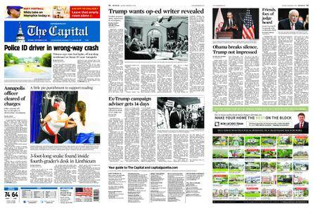 The Capital – September 08, 2018