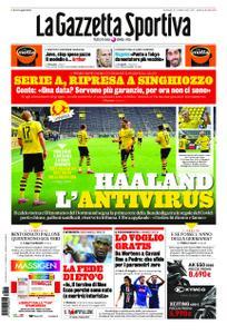 La Gazzetta dello Sport Bergamo – 17 maggio 2020