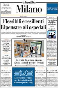 la Repubblica Milano - 8 Luglio 2020