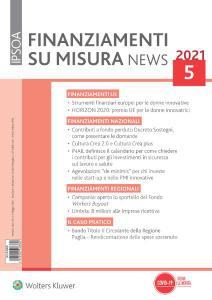 Finanziamenti su misura news - Aprile 2021