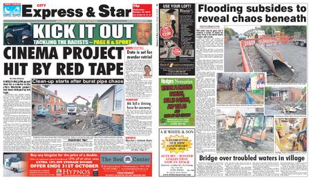 Express and Star City Edition – October 16, 2019