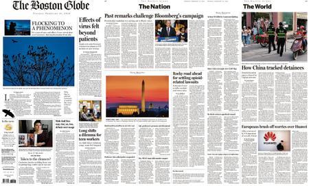 The Boston Globe – February 18, 2020