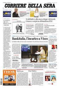 Corriere della Sera - 27 Ottobre 2017
