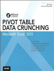 'Excel 2013 Pivot Table Data Crunching