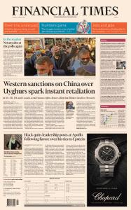Financial Times Europe - March 23, 2021