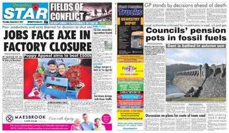 Shropshire Star Shrewsbury Edition – November 09, 2017