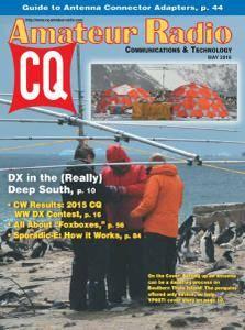 CQ Amateur Radio - May 2016