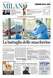 Corriere della Sera Milano – 07 aprile 2020