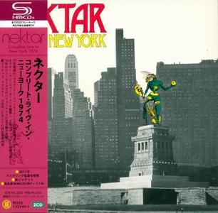 Nektar - Live In New York (1977) [2CD Japanese Edition] (Repost)