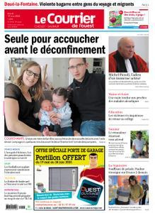 Le Courrier de l'Ouest Cholet – 19 mai 2020