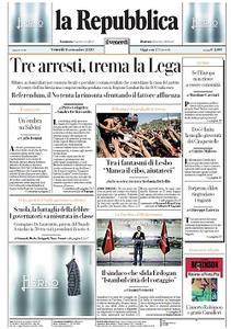 la Repubblica - 11 Settembre 2020