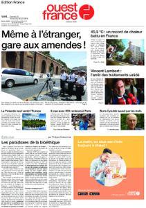 Ouest-France Édition France – 29 juin 2019