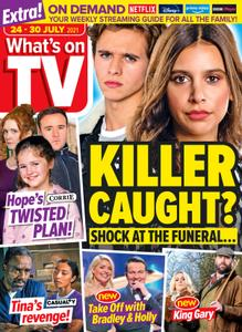 What's on TV - 24 July 2021