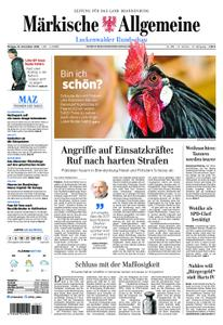 Märkische Allgemeine Luckenwalder Rundschau - 19. November 2018