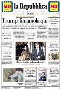 la Repubblica - 9 Gennaio 2020