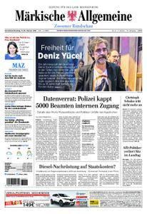 Märkische Allgemeine Zossener Rundschau - 17. Februar 2018
