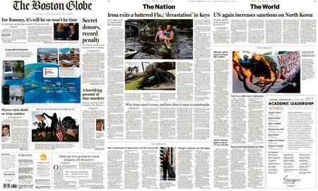 The Boston Globe – September 12, 2017