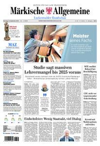 Märkische Allgemeine Luckenwalder Rundschau - 10. September 2019