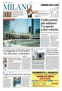 Corriere della Sera Milano – 12 agosto 2020