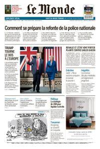 Le Monde du Jeudi 6 Juin 2019