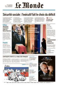 Le Monde du Mardi 1er Octobre 2019