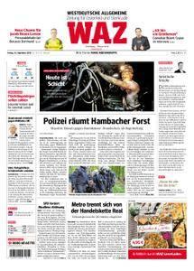 WAZ Westdeutsche Allgemeine Zeitung Oberhausen-Sterkrade - 14. September 2018
