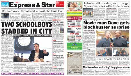 Express and Star City Edition – January 29, 2018